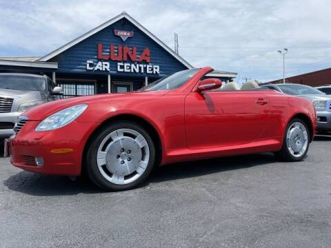 2002 Lexus SC 430 for sale at LUNA CAR CENTER in San Antonio TX