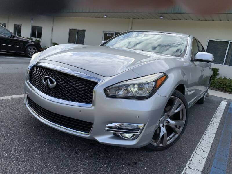 2015 Infiniti Q70L for sale at Fisher Motor Group LLC in Bradenton FL