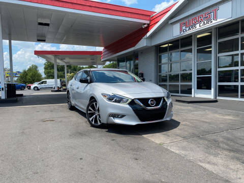 2018 Nissan Maxima for sale at Furrst Class Cars LLC  - Independence Blvd. in Charlotte NC