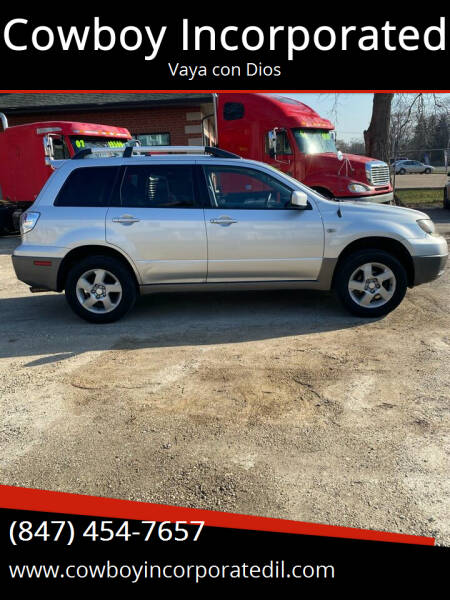 2003 Mitsubishi Outlander for sale at Cowboy Incorporated in Waukegan IL