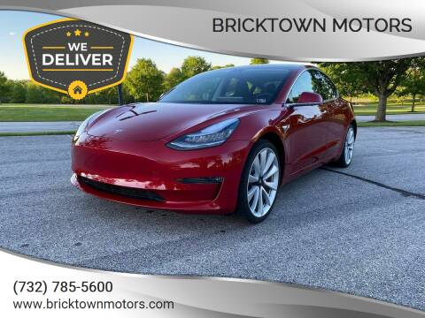 2019 Tesla Model 3 for sale at Bricktown Motors in Brick NJ