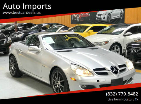2008 Mercedes-Benz SLK for sale at Auto Imports in Houston TX