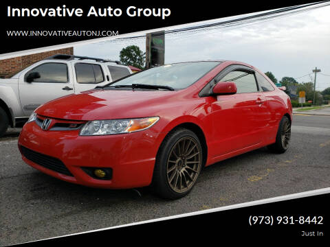 2007 Honda Civic for sale at Innovative Auto Group in Hasbrouck Heights NJ