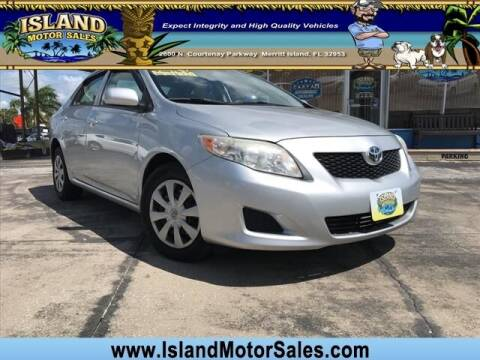 2009 Toyota Corolla for sale at Island Motor Sales Inc. in Merritt Island FL