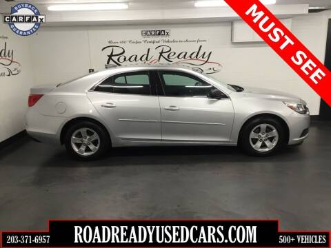 2015 Chevrolet Malibu for sale at Road Ready Used Cars in Ansonia CT