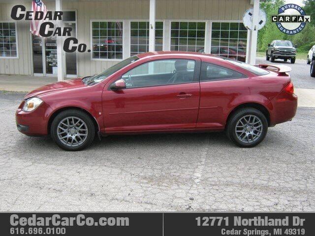 2008 Pontiac G5 for sale at Cedar Car Co in Cedar Springs MI