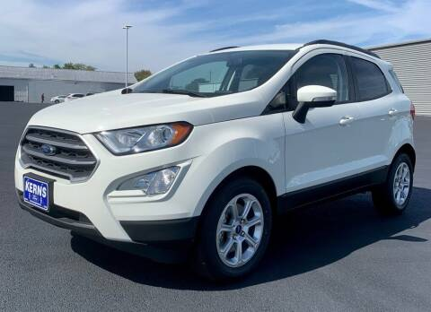 2021 Ford EcoSport for sale at Kerns Ford Lincoln in Celina OH
