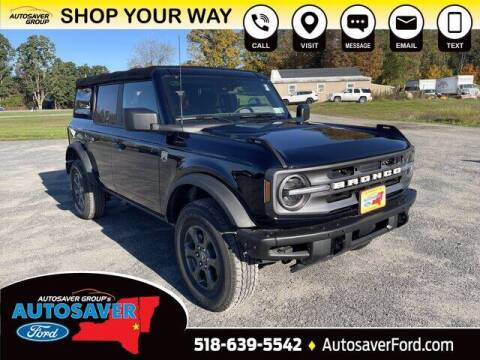 2021 Ford Bronco for sale at Autosaver Ford in Comstock NY