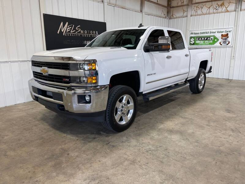 2016 Chevrolet Silverado 2500HD for sale at Mel's Motors in Nixa MO