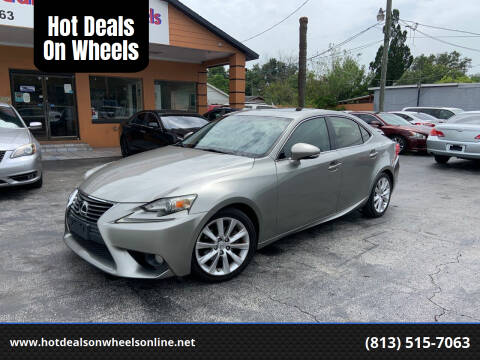 2014 Lexus IS 250 for sale at Hot Deals On Wheels in Tampa FL