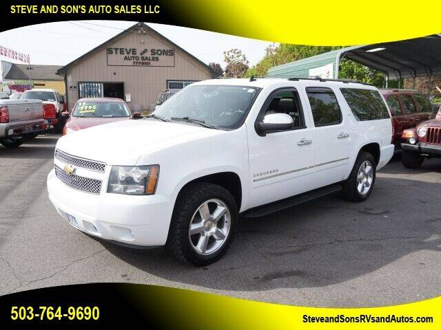 2011 Chevrolet Suburban for sale at Steve & Sons Auto Sales in Happy Valley OR