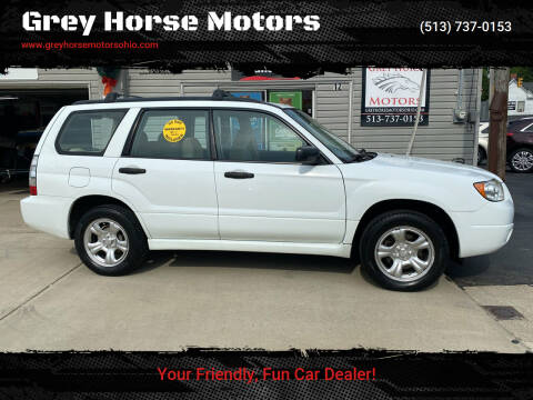 2007 Subaru Forester for sale at Grey Horse Motors in Hamilton OH