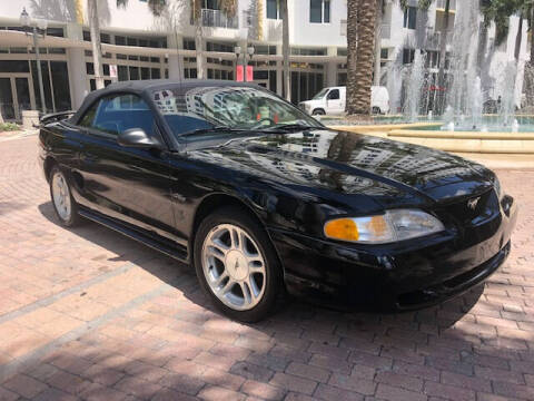 1998 Ford Mustang for sale at Florida Cool Cars in Fort Lauderdale FL