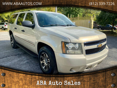 2007 Chevrolet Suburban for sale at ABA Auto Sales in Bloomington IN