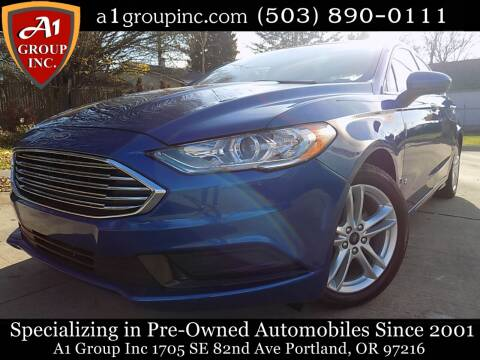 2018 Ford Fusion Hybrid for sale at A1 Group Inc in Portland OR