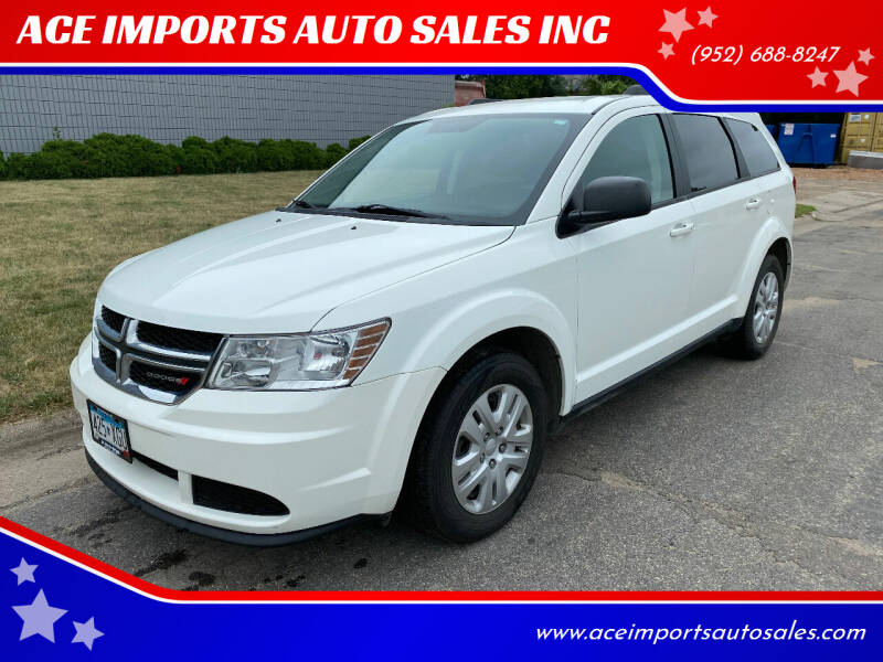 2016 Dodge Journey for sale at ACE IMPORTS AUTO SALES INC in Hopkins MN