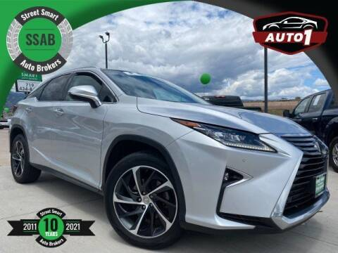 2016 Lexus RX 350 for sale at Street Smart Auto Brokers in Colorado Springs CO