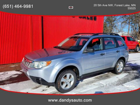 2012 Subaru Forester for sale at Dandy's Auto Sales in Forest Lake MN
