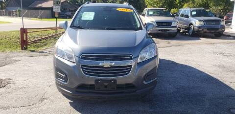 2015 Chevrolet Trax for sale at Anthony's Auto Sales of Texas, LLC in La Porte TX