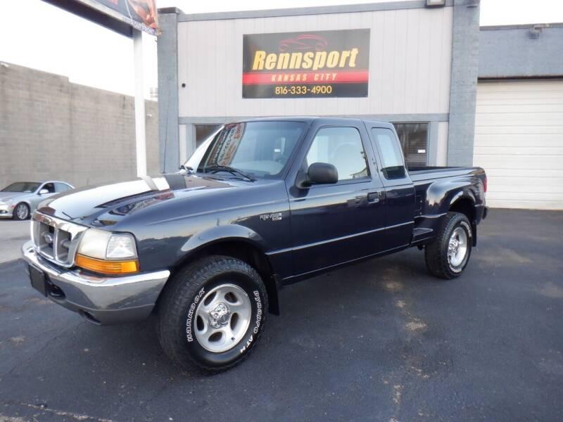 2000 Ford Ranger for sale at RENNSPORT Kansas City in Kansas City MO