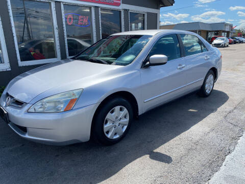2003 Honda Accord for sale at Martins Auto Sales in Shelbyville KY