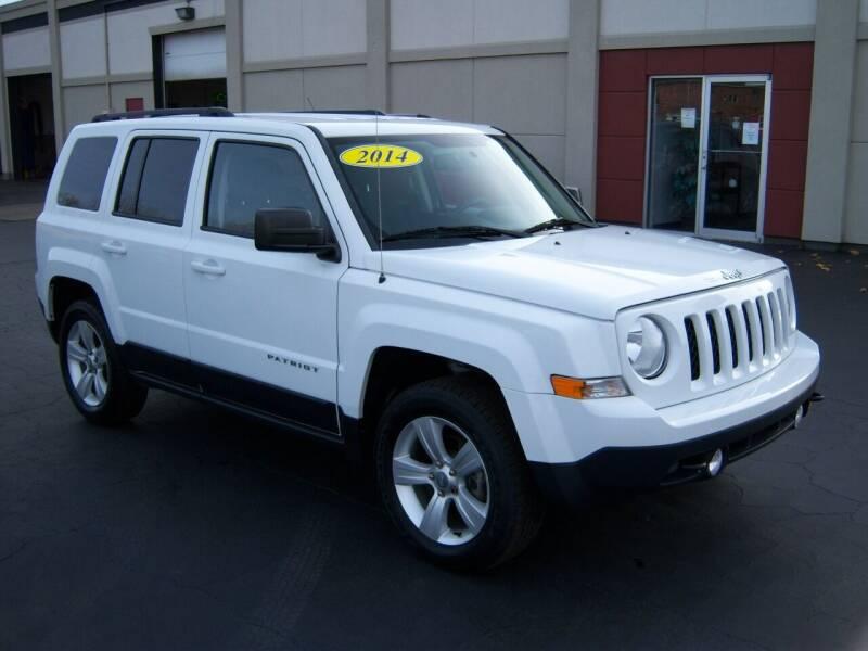 2014 Jeep Patriot for sale at Blatners Auto Inc in North Tonawanda NY