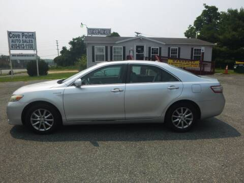 2011 Toyota Camry Hybrid for sale at Cove Point Auto Sales in Joppa MD
