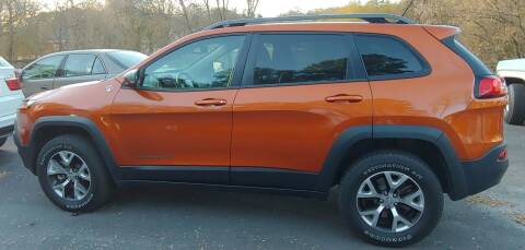 2015 Jeep Cherokee for sale at Buddy's Auto Inc in Pendleton SC