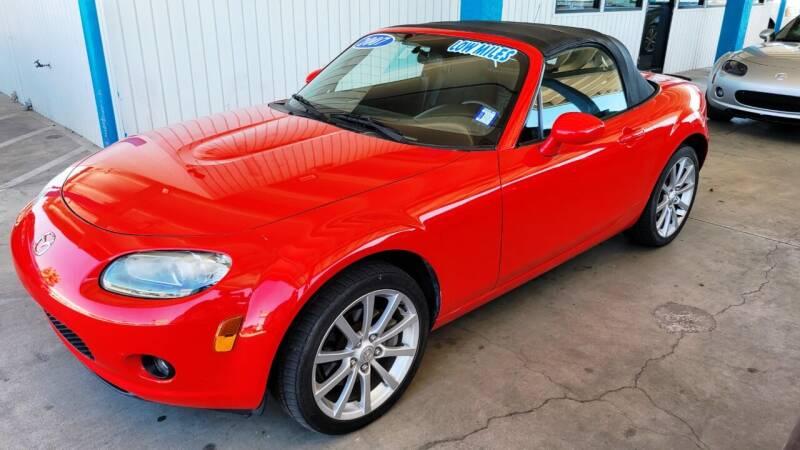 2007 Mazda MX-5 Miata for sale at Bob Ross Motors in Tucson AZ