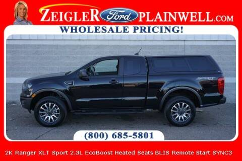2020 Ford Ranger for sale at Zeigler Ford of Plainwell- Jeff Bishop in Plainwell MI