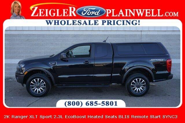 2020 Ford Ranger for sale at Zeigler Ford of Plainwell- Jeff Bishop in Plainwell MI