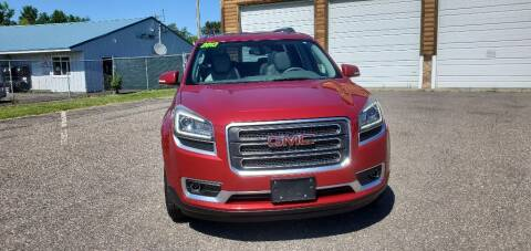 2013 GMC Acadia for sale at Transmart Autos in Zimmerman MN