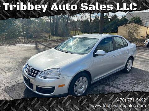 2010 Volkswagen Jetta for sale at Tribbey Auto Sales in Stockbridge GA