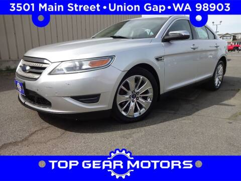 2010 Ford Taurus for sale at Top Gear Motors in Union Gap WA