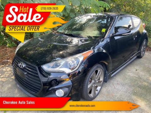2014 Hyundai Veloster for sale at Cherokee Auto Sales in Acworth GA