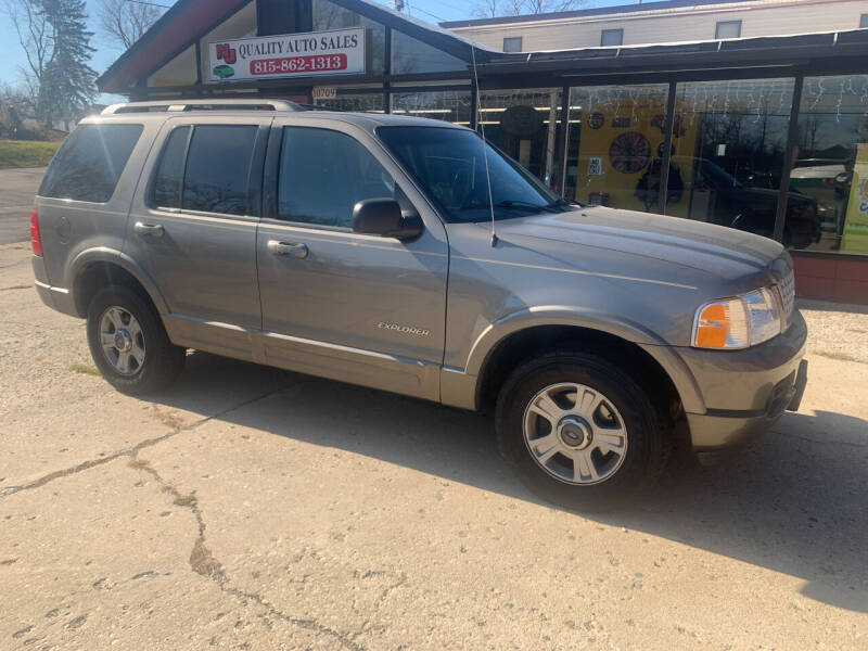2002 Ford Explorer for sale at NJ Quality Auto Sales LLC in Richmond IL
