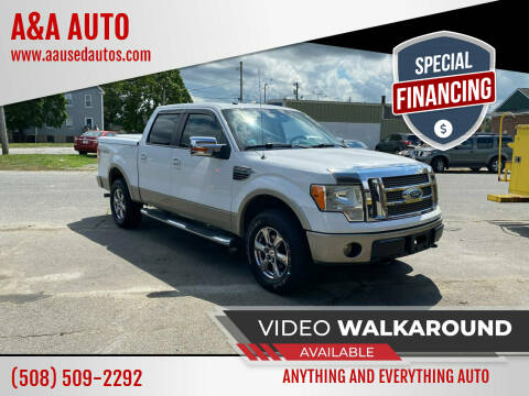 2009 Ford F-150 for sale at A&A AUTO in Fairhaven MA