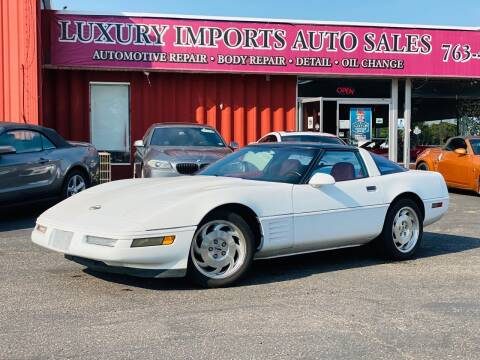 1994 Chevrolet Corvette for sale at LUXURY IMPORTS AUTO SALES INC in North Branch MN