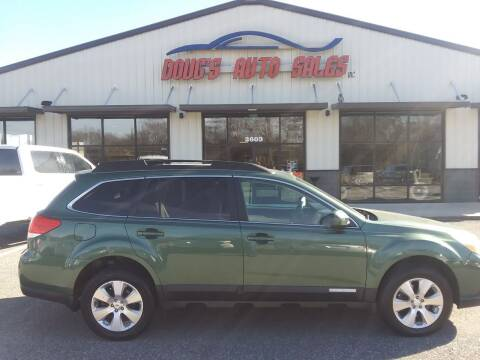 2011 Subaru Outback for sale at DOUG'S AUTO SALES INC in Pleasant View TN