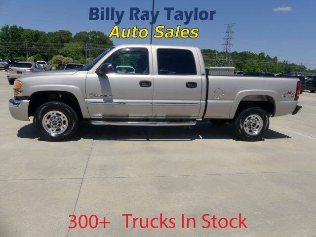 2004 GMC Sierra 2500HD for sale at Billy Ray Taylor Auto Sales in Cullman AL