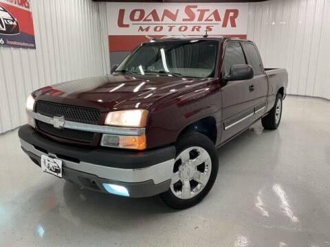 2003 Chevrolet Silverado 1500 for sale at Loan Star Motors in Humble TX