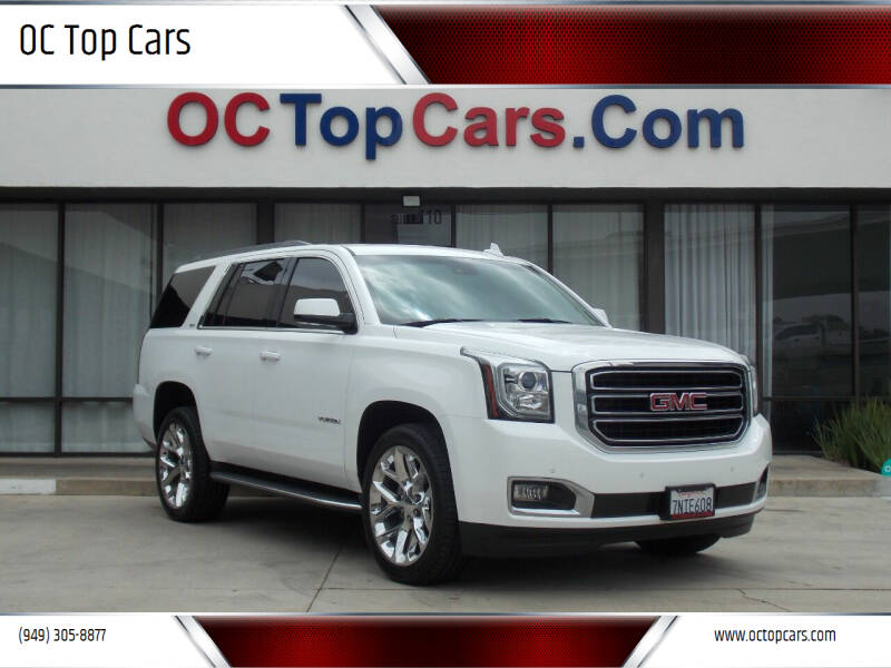 2016 GMC Yukon for sale at OC Top Cars in Irvine CA