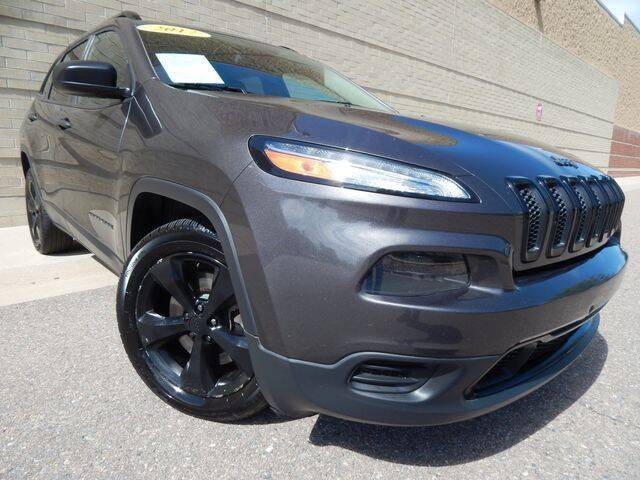 2017 Jeep Cherokee for sale at Altitude Auto Sales in Denver CO