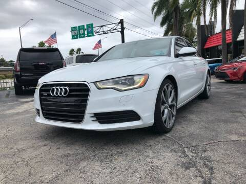 2014 Audi A6 for sale at Gtr Motors in Fort Lauderdale FL