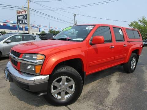 2012 Chevrolet Colorado for sale at TRI CITY AUTO SALES LLC in Menasha WI