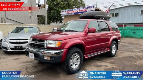 2002 Toyota 4Runner for sale at San Diego Auto Traders in San Diego CA