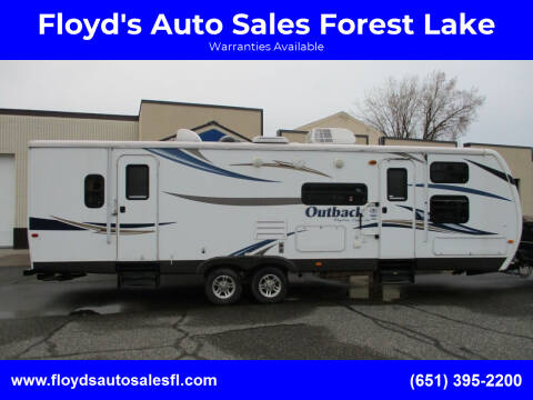 2012 Keystone Outback for sale at Floyd's Auto Sales Forest Lake in Forest Lake MN