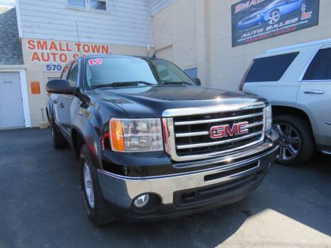 2012 GMC Sierra 1500 for sale at Small Town Auto Sales in Hazleton PA