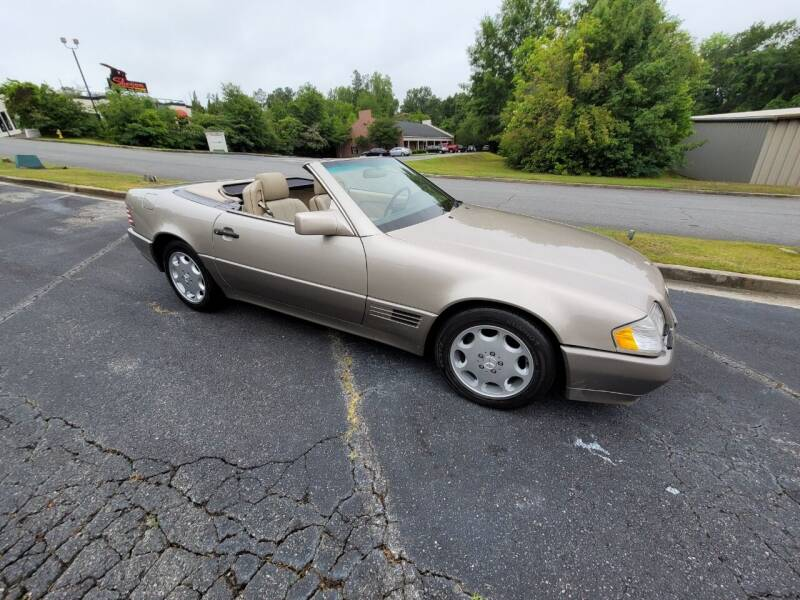 1995 Mercedes-Benz SL-Class for sale at Encore Motors in Macon GA