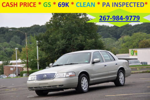 2005 Mercury Grand Marquis for sale at T CAR CARE INC in Philadelphia PA